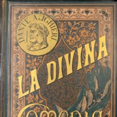 Libros antiguos: LA DIVINA COMEDIA. ILUSTRADA POR GUSTAVO DORÉ. Lote 210955890