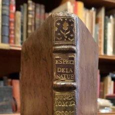 Libros antiguos: ESPECTACULO DE LA NATURALEZA. PARTE VI TOMO XII. M. PLUCHE. Lote 211275542
