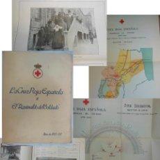 Libros antiguos: LA CRUZ ROJA ESPAÑOLA Y EL AGUINALDO DEL SOLDADO.1925-26,MEMORIA DISTRIBUCION EN PROTECTORADO AFRICA. Lote 211275570