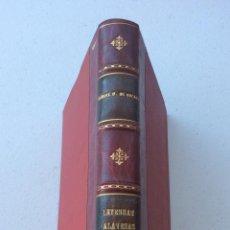 Libros antiguos: LEYENDAS ALAVESAS. PRIMERA SERIE. DIAZ DE ARCAYA, MANUEL.1898. Lote 211409509