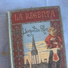 Libros antiguos: LA REGENTA. LEOPOLDO ALAS (CLARIN) ILUSTRACION JUAN LLIMONA. TOMO II. BIBLIOTECA ARTE Y LETRAS 1885. Lote 211598730