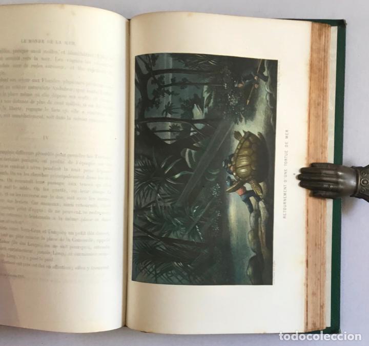 Libros antiguos: LE MONDE DE LA MER. - FRÉDOL, Alfred. 1865. GRABADOS - Foto 7 - 211652369