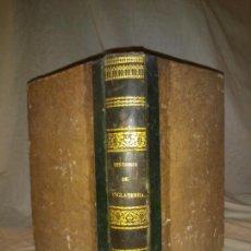 Libros antiguos: HISTORIA DE INGLATERRA - AÑO 1855 - OLIVERIO GOLDSMITH - IN-FOLIO - ILUSTRADO.. Lote 211704333