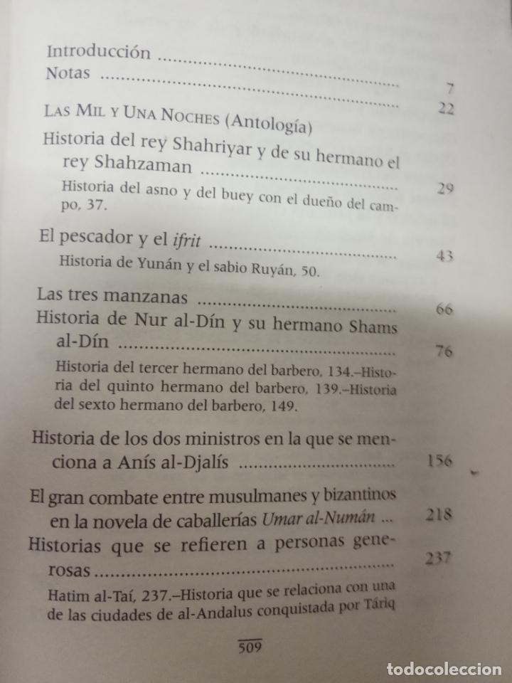 Libros antiguos: las mil y una noche antologia editorial alianza - Foto 3 - 136348486