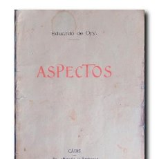 Libros antiguos: ASPECTOS. ORY, EDUARDO DE. Lote 211862038