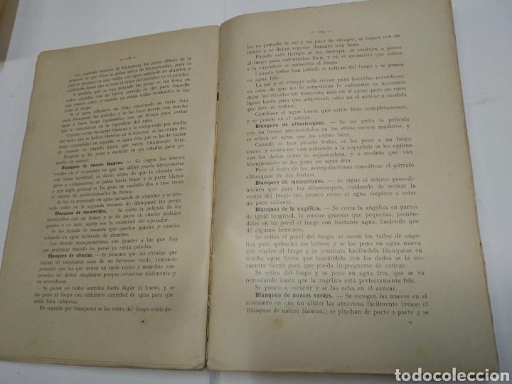 Libros antiguos: Visconti, Roberto.Manual práctico de confitería, repostería y pastelería y la preparación de bebida - Foto 5 - 212031867