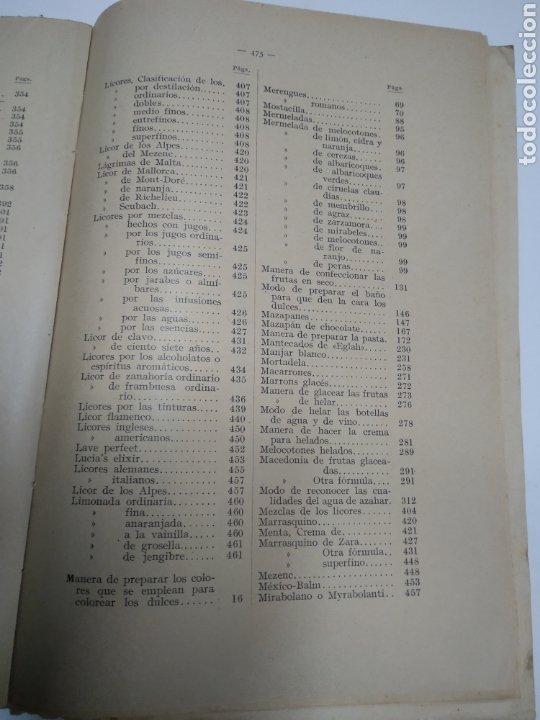 Libros antiguos: Visconti, Roberto.Manual práctico de confitería, repostería y pastelería y la preparación de bebida - Foto 15 - 212031867