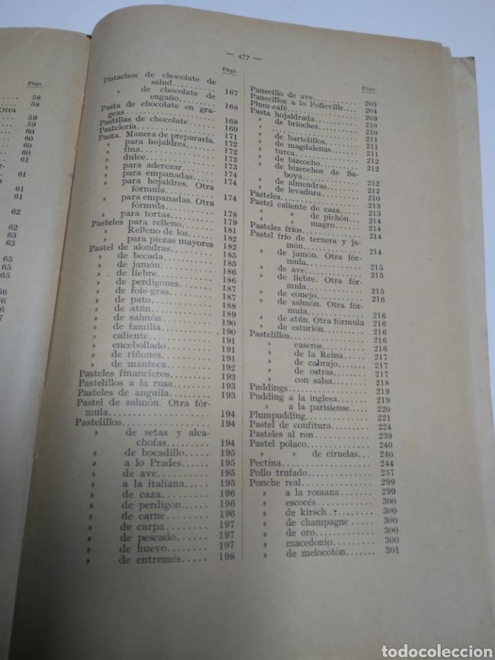 Libros antiguos: Visconti, Roberto.Manual práctico de confitería, repostería y pastelería y la preparación de bebida - Foto 19 - 212031867