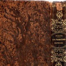 Libros antiguos: ALEJANDRO MANZONI . LOS PROMETIDOS ESPOSOS / LA COLUMNA INFAME (VICENTE, 1850). Lote 212193773