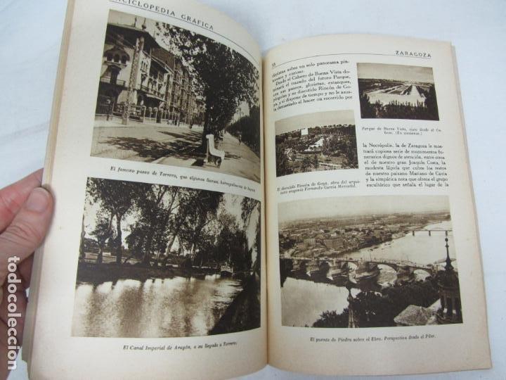 Libros antiguos: Enciclopedia Grafica de Zaragoza - Ed. Cervantes - Barcelona 1931 - Foto 2 - 212478222