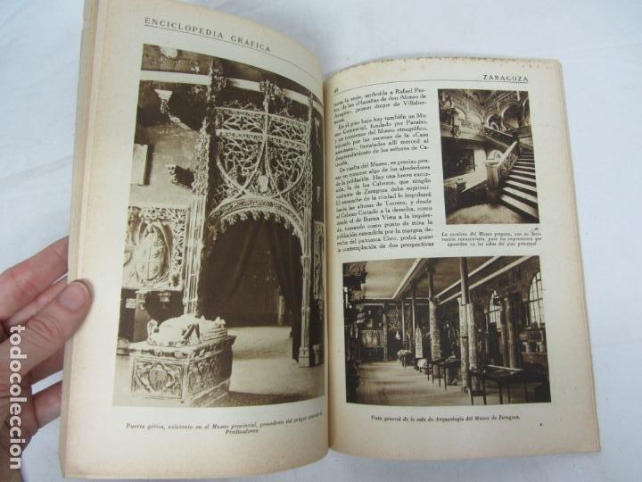 Libros antiguos: Enciclopedia Grafica de Zaragoza - Ed. Cervantes - Barcelona 1931 - Foto 3 - 212478222