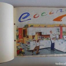 Libros antiguos: LIBRERIA GHOTICA. EXCEPCIONAL MANUSCRITO DE COCINA DE 1940.RECETAS, LECCIONES Y ILUSTRACIONES. ÚNICO. Lote 212485947