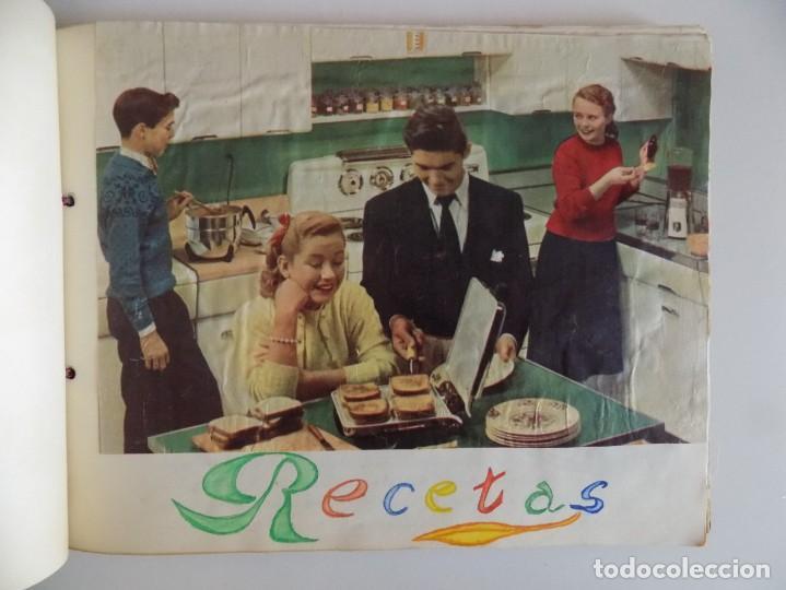Libros antiguos: LIBRERIA GHOTICA. EXCEPCIONAL MANUSCRITO DE COCINA DE 1940.RECETAS, LECCIONES Y ILUSTRACIONES. ÚNICO - Foto 13 - 212485947