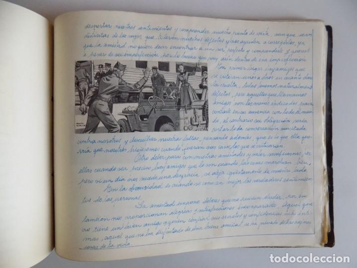 Libros antiguos: LIBRERIA GHOTICA. EXCEPCIONAL MANUSCRITO DE COCINA DE 1940.RECETAS, LECCIONES Y ILUSTRACIONES. ÚNICO - Foto 24 - 212485947