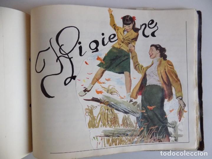 Libros antiguos: LIBRERIA GHOTICA. EXCEPCIONAL MANUSCRITO DE COCINA DE 1940.RECETAS, LECCIONES Y ILUSTRACIONES. ÚNICO - Foto 28 - 212485947