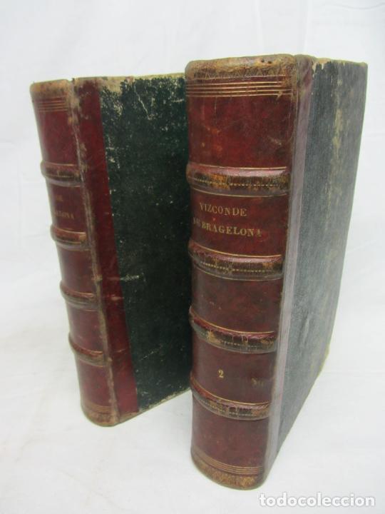 EL VIZCONDE DE BRAGELONA - ALEJANDRO DUMAS - BARCELONA 1837 Y 1858 (Libros Antiguos, Raros y Curiosos - Bellas artes, ocio y coleccionismo - Otros)