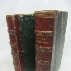 Libros antiguos: EL VIZCONDE DE BRAGELONA - ALEJANDRO DUMAS - BARCELONA 1837 Y 1858. Lote 212491931