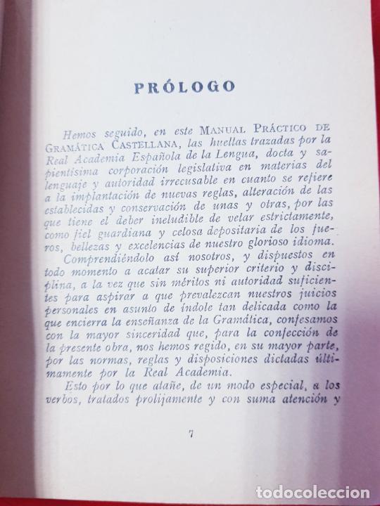 Libros antiguos: LIBRO-MANUAL PRÁCTICO DE GRAMÁTICA CASTELLANA-FRANCISCO SANTANO-BUEN ESTADO-VER FOTOS - Foto 7 - 212672682