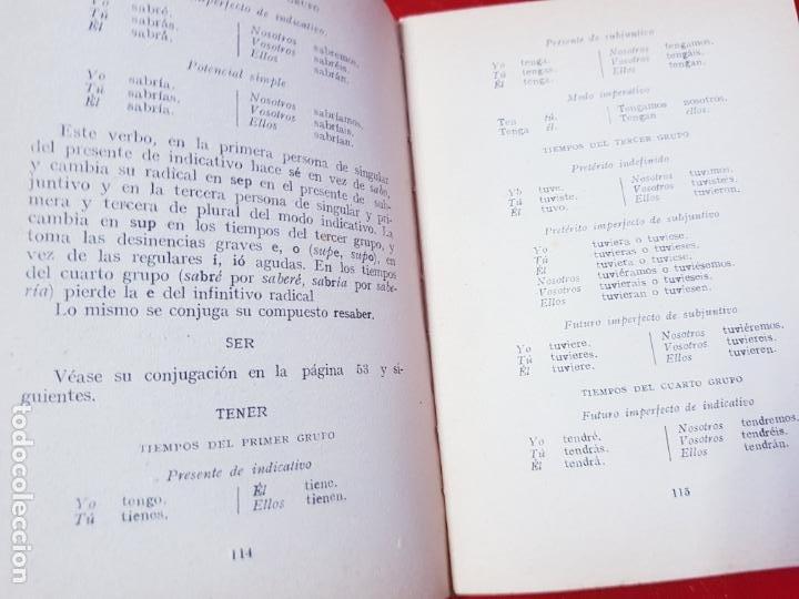 Libros antiguos: LIBRO-MANUAL PRÁCTICO DE GRAMÁTICA CASTELLANA-FRANCISCO SANTANO-BUEN ESTADO-VER FOTOS - Foto 9 - 212672682