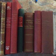 Libros antiguos: LOTE DE LIBROS ANTIGUOS, PARA DECORAR. Lote 212777842