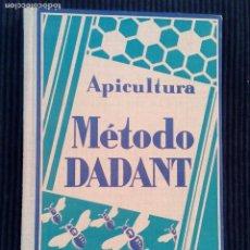 Libros antiguos: APICULTURA. METODO DADANT. GUSTAVO GILI 1928.. Lote 212787185