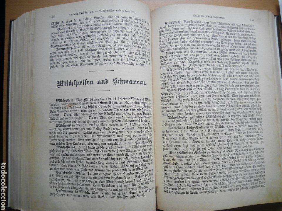 Libros antiguos: Marie von Rokitansky Oesterreichische Kuche 1929 cocina gastronomia Austria alemán deutsch - Foto 5 - 212902387