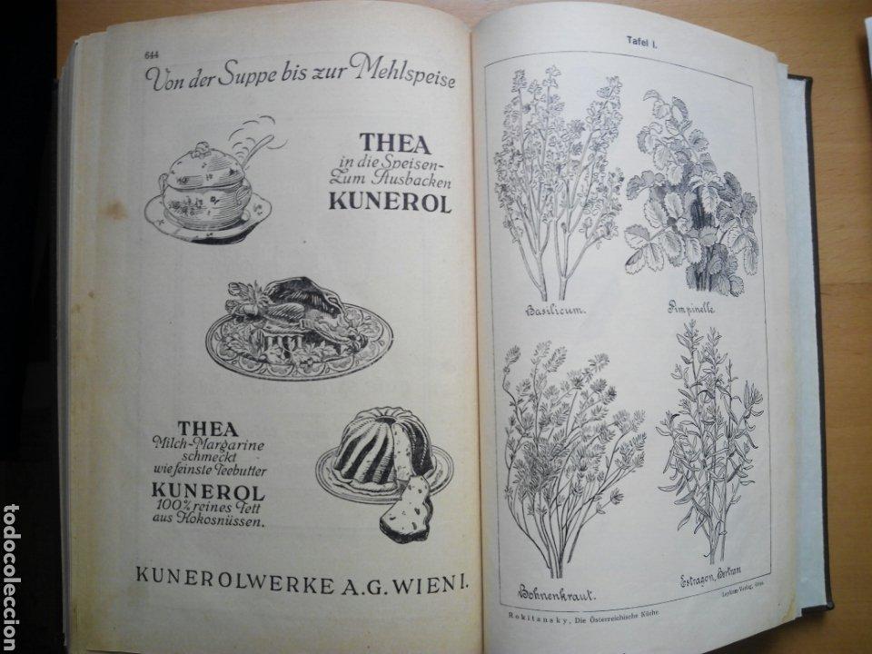 Libros antiguos: Marie von Rokitansky Oesterreichische Kuche 1929 cocina gastronomia Austria alemán deutsch - Foto 7 - 212902387