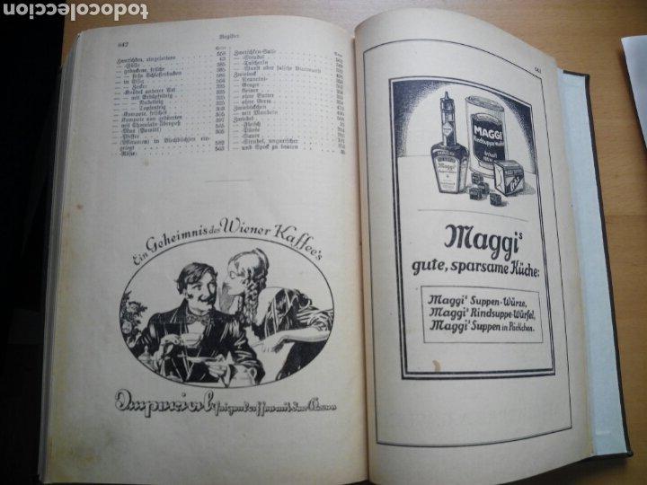 Libros antiguos: Marie von Rokitansky Oesterreichische Kuche 1929 cocina gastronomia Austria alemán deutsch - Foto 9 - 212902387