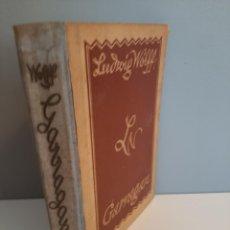 Libros antiguos: GARRAGAN, LUDWIG WOLFF, NARRATIVA EN ALEMAN / NARRATIVE IN GERMAN, ULFEIN, 1924. Lote 213005383