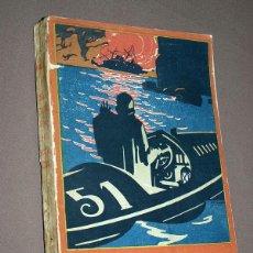 Libros antiguos: SU CULPA HERÓICA. HEADON HILL. COL. MADRID 4. CALLEJA, 1919. PESADILLAS GUSTAVO TOUDOUZE. PENAGOS.. Lote 213189688