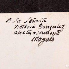 Libros antiguos: XAVIER NOGUÉS - DEDICATORIA AUTÒGRAFA - 33 REPRODUCCIONS DE DIBUIXOS, ETC. - FRANCESC PUJOLS. Lote 213278943