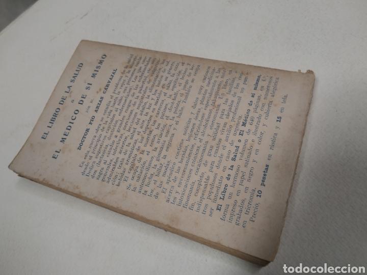 Libros antiguos: CAPO, Profesor Nicolás:Cocina vegetariana y trofoterapia. (Compatibilidad química de los alimentos - Foto 3 - 213281303