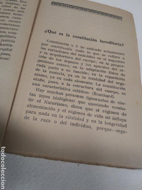 Libros antiguos: CAPO, Profesor Nicolás:Cocina vegetariana y trofoterapia. (Compatibilidad química de los alimentos - Foto 6 - 213281303