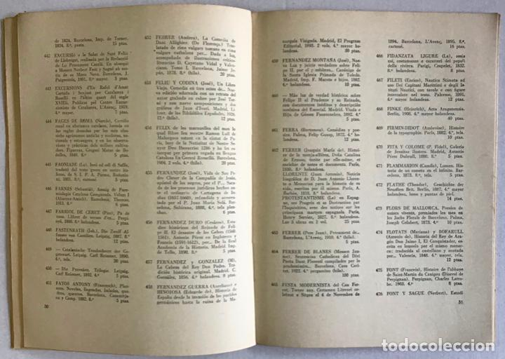 Libros antiguos: Catálogo de la Antigua Librería Babra. Dirigido y publicado por Francisco Vindel. OBRAS DE LOS SIGLO - Foto 3 - 123157254