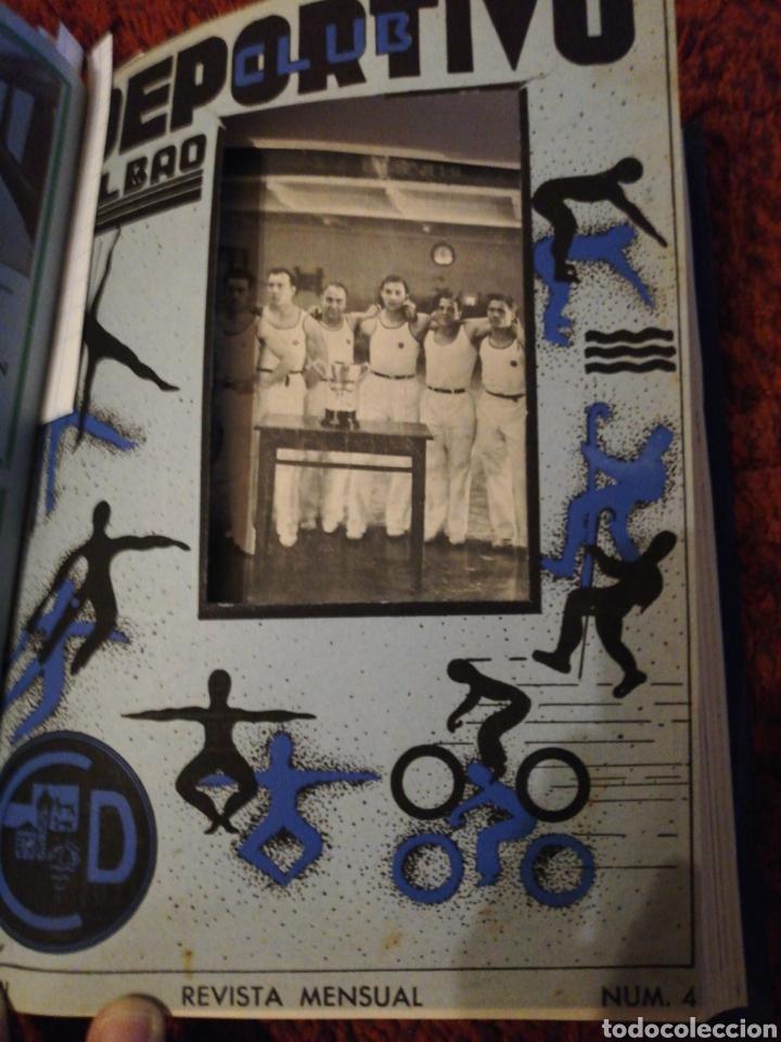CLUB DEPORTIVO BILBAO. REVISTA ENCUADERNADA 10 NÚMEROS. 1935-1936 (Libros Antiguos, Raros y Curiosos - Historia - Otros)
