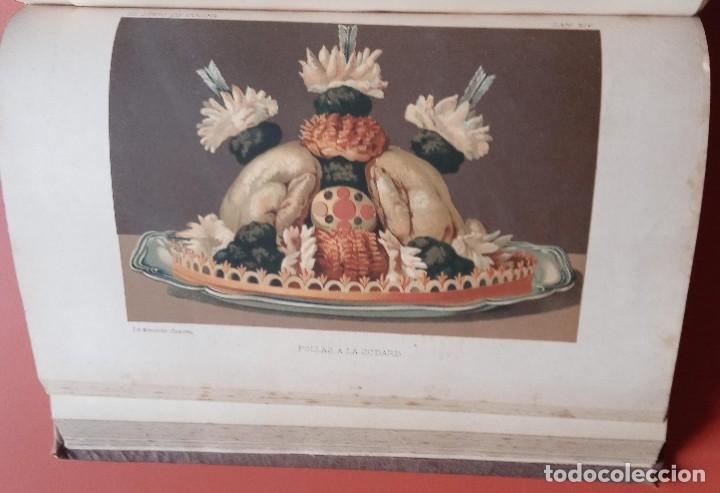 Libros antiguos: EL LIBRO DE COCINA - Comprende LA COCINA CASERA y LA GRAN COCINA - JULES GOUFFE - 1885 ca. - Foto 6 - 213353333