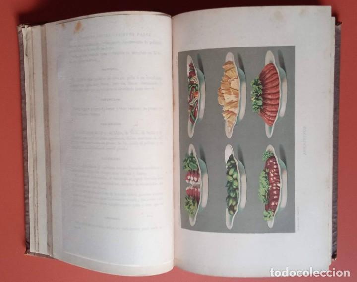 Libros antiguos: EL LIBRO DE COCINA - Comprende LA COCINA CASERA y LA GRAN COCINA - JULES GOUFFE - 1885 ca. - Foto 11 - 213353333
