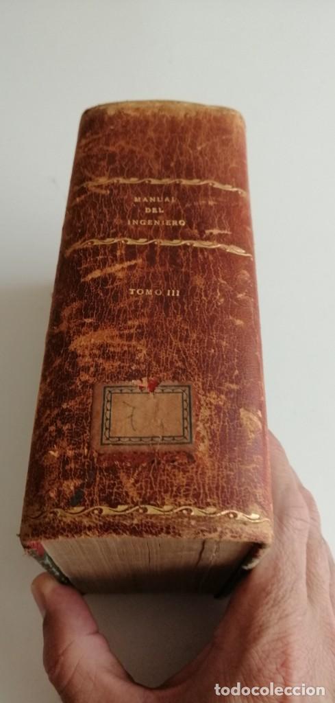 G-21 LIBRO MANUAL DEL INGENIERO TOMO III (Libros Antiguos, Raros y Curiosos - Ciencias, Manuales y Oficios - Otros)