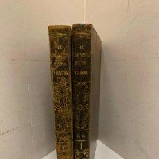 Libros antiguos: EL CORAZON DE UN TORERO, MEMORIAS DEL TIEMPO DE CARLOS IVM ENRIQUE FERNANDEZ LARA, 2 TOMOS. Lote 213412040