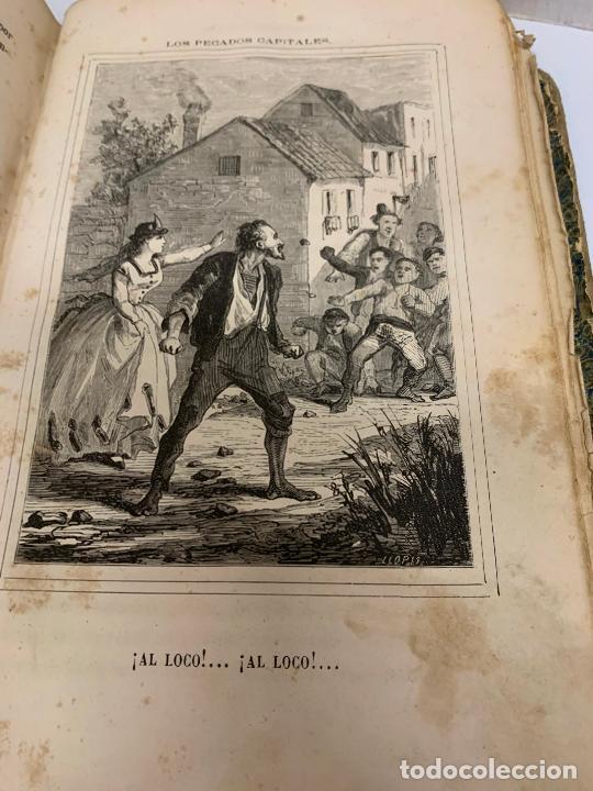 Libros antiguos: LOS PECADOS CAPITALES, Francisco J. Orellana. 1865-1866, 2 tomos en un solo libro - Foto 2 - 213418786