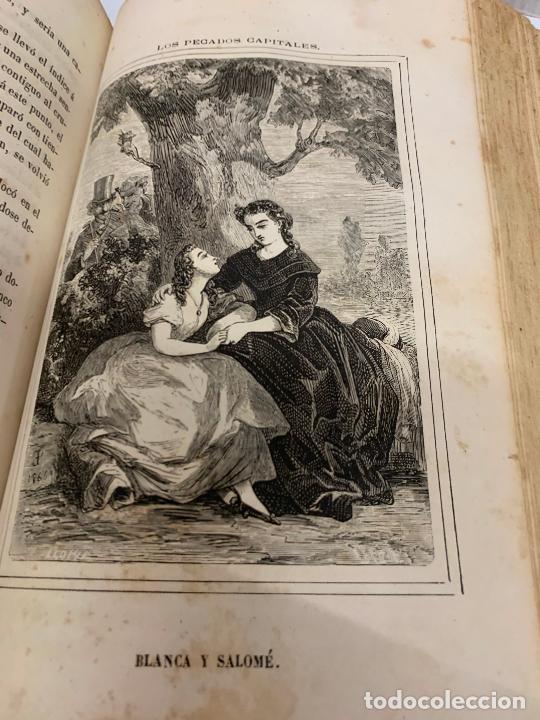 Libros antiguos: LOS PECADOS CAPITALES, Francisco J. Orellana. 1865-1866, 2 tomos en un solo libro - Foto 6 - 213418786