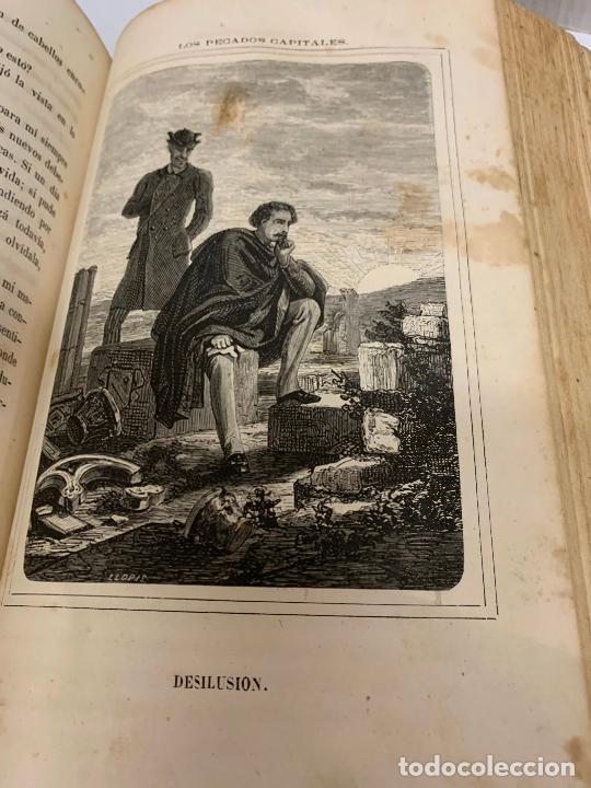 Libros antiguos: LOS PECADOS CAPITALES, Francisco J. Orellana. 1865-1866, 2 tomos en un solo libro - Foto 8 - 213418786