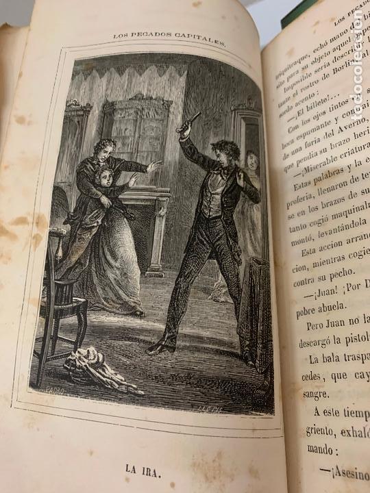 Libros antiguos: LOS PECADOS CAPITALES, Francisco J. Orellana. 1865-1866, 2 tomos en un solo libro - Foto 12 - 213418786