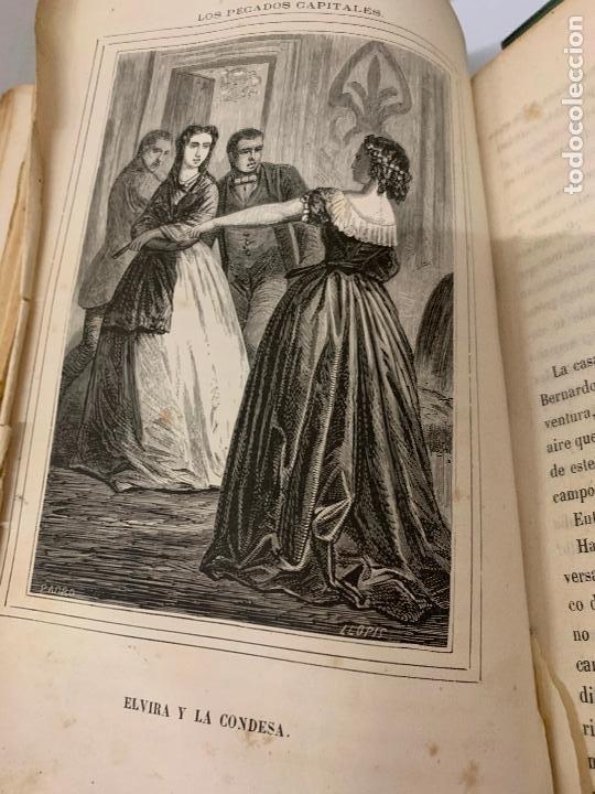 Libros antiguos: LOS PECADOS CAPITALES, Francisco J. Orellana. 1865-1866, 2 tomos en un solo libro - Foto 14 - 213418786