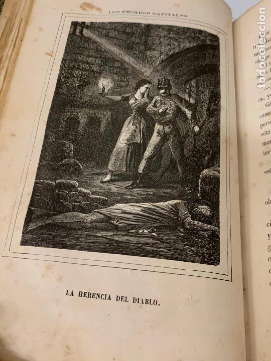 Libros antiguos: LOS PECADOS CAPITALES, Francisco J. Orellana. 1865-1866, 2 tomos en un solo libro - Foto 15 - 213418786