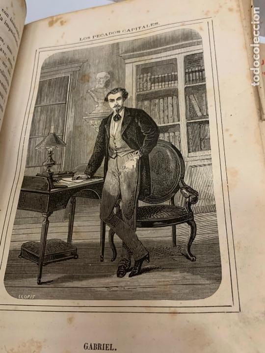Libros antiguos: LOS PECADOS CAPITALES, Francisco J. Orellana. 1865-1866, 2 tomos en un solo libro - Foto 16 - 213418786