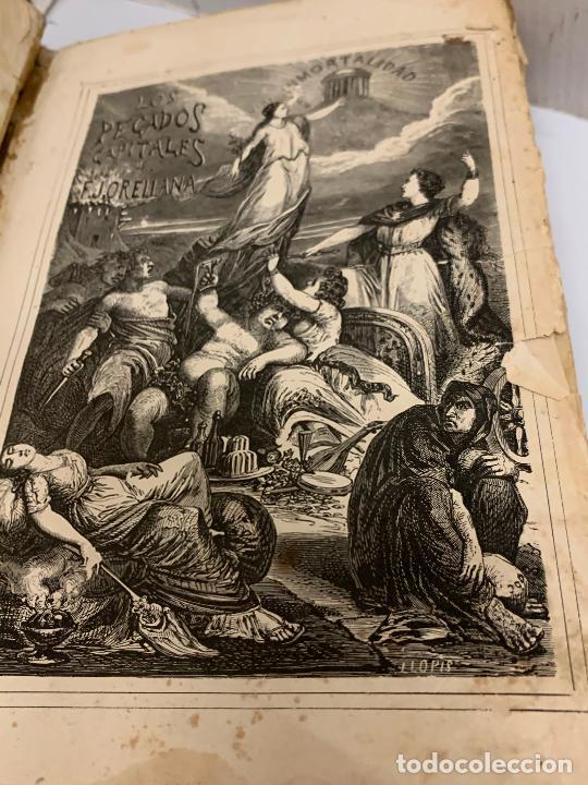Libros antiguos: LOS PECADOS CAPITALES, Francisco J. Orellana. 1865-1866, 2 tomos en un solo libro - Foto 20 - 213418786