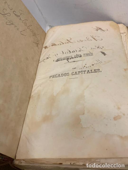 Libros antiguos: LOS PECADOS CAPITALES, Francisco J. Orellana. 1865-1866, 2 tomos en un solo libro - Foto 21 - 213418786