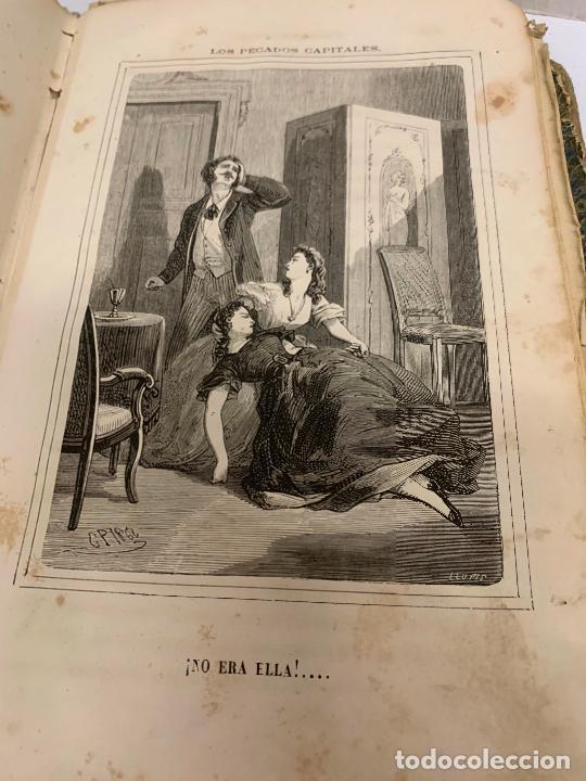 Libros antiguos: LOS PECADOS CAPITALES, Francisco J. Orellana. 1865-1866, 2 tomos en un solo libro - Foto 22 - 213418786