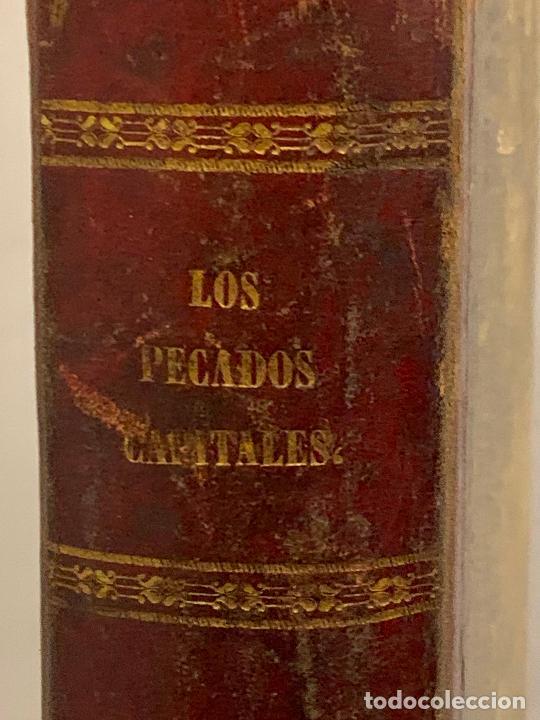 Libros antiguos: LOS PECADOS CAPITALES, Francisco J. Orellana. 1865-1866, 2 tomos en un solo libro - Foto 24 - 213418786